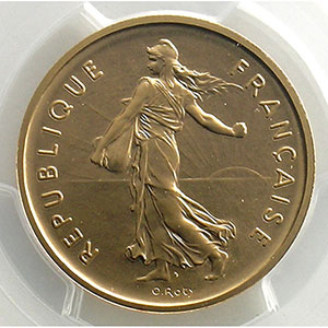 G.771P   5 Francs   1970 or    PCGS-SP68    FDC
