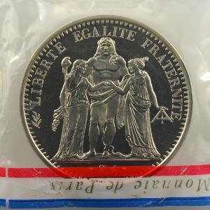G.813P   10 Francs   1973 Piéfort en argent    FDC
