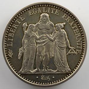 G.813P   10 Francs   1973 Piéfort en argent    SUP/FDC