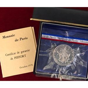 G.814P   10 Francs   1976 argent    FDC