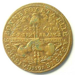 Gad.Elie 4.1   2 Sols 6 Deniers   1791    TTB