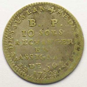 Gad.Elie 9.2   10 Sols   1792    TB