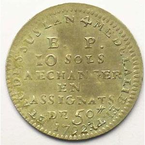 Gad/Elie 9.2   10 Sols   1792    TTB+