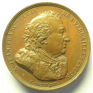 GATTEAUX   bronze   1816   41mm    TTB+