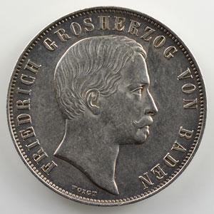 Gedenkgulden   1863    TTB