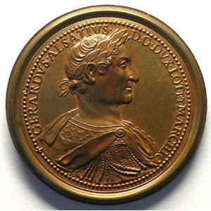 Gérard d'Alsace   bronze   47,5 mm    SUP