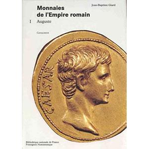 GIARD   Catalogue des monnaies de l'Empire Romain - Tome I  Auguste