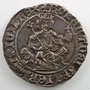 Gigliato d'argent   Robert d'Anjou  (1309-1343)    TTB+/SUP