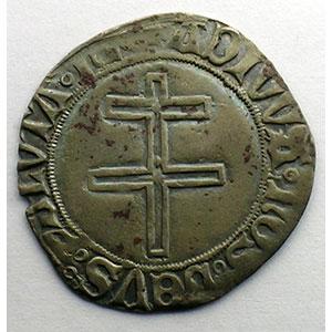 Gros au Duc debout et à la croix de Lorraine    TB+