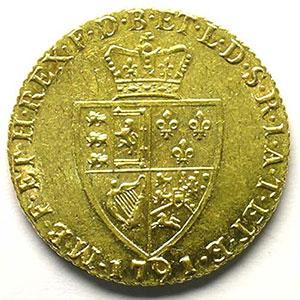 Guinée   1791    TTB/TTB+