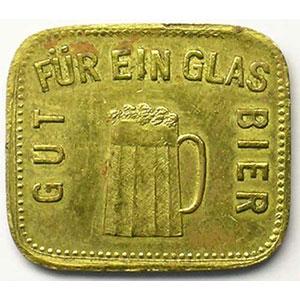 Gut Für Ein Glass Bier   Lt, Rect 4a    22x19 mm   TTB