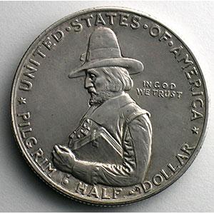Half Dollar   1920   Pilgrim Tercentenary    SUP