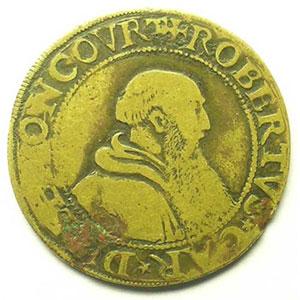 Jeton de cuivre   1554    TB