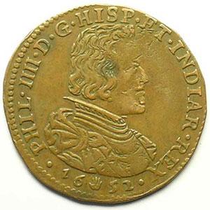 Jeton de cuivre   1652  Anvers    TTB