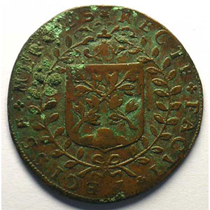 Jeton de cuivre   Pierre-François HENRY   1648    TB/TB+