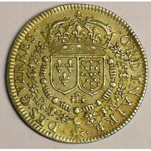 jeton rond en argent   1658    TTB/TTB+