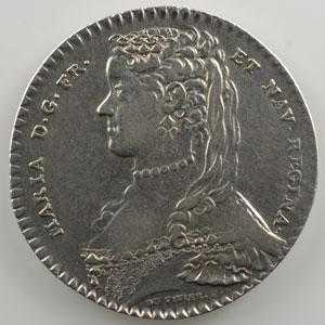 jeton rond en argent   1738    TTB
