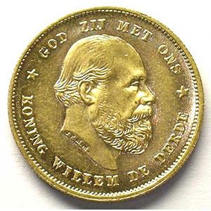 KM 106   10 Gulden   1879/7    SUP/FDC