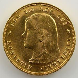 KM 118   10 Gulden   1897    SUP/FDC