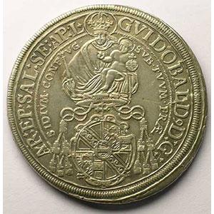 KM 162   Thaler   Guidobald (1654-1668)   1661    TTB+