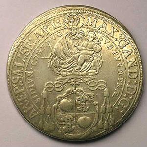 KM 190   Thaler   Max Gandolph (1668-1687)   1669    TB+/TTB