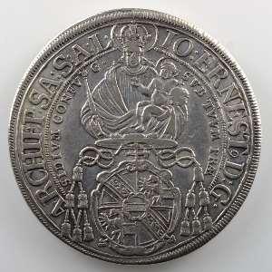 KM 254   Thaler   Johann Ernst (1687-1709)   1701    TTB/TTB+
