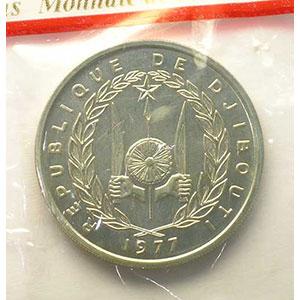 KM 26   100 Francs   1977 Essai    FDC