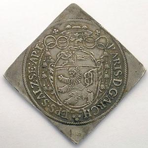 KM 59   1/2 Thaler Klippe   Paris von Lodron (1619-1653)   1620    TTB+