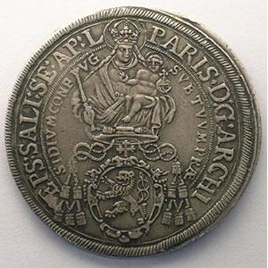 KM 87   Thaler   Paris von Lodron (1619-1653)   1643    TTB+