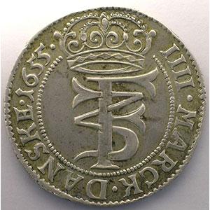 Krone (4 Mark)   1655    TTB