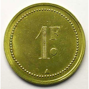 Lec.159a - Elie 80.1   1 Franc    TTB