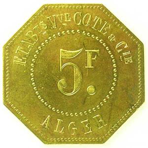 Lec.167   5 Francs    TTB