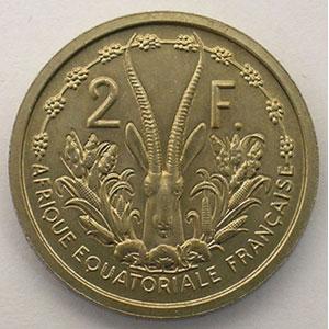 Lec.17   2 Francs   1948 Essai    FDC