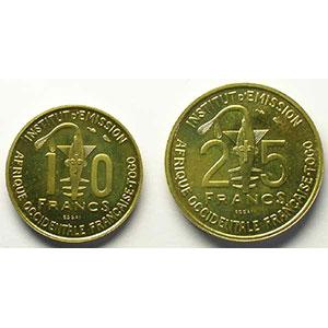 Lec.19, 21   10 Francs, 25 Francs   1957 Essai    FDC