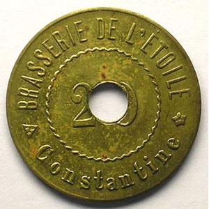 Lec.251 - Elie 15.1   20 Centimes    SUP/FDC