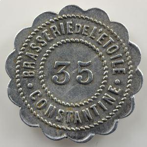 Lec.251a - Elie 15.2   35 Centimes   aluminium    TTB+