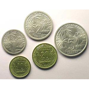 Lec.32, 34, 36, 38 et 40   1, 2, 5, 10, et 20 Francs   1964 Essai    FDC