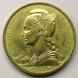 Lec.43   10 Francs 1965 Essai    SUP/FDC