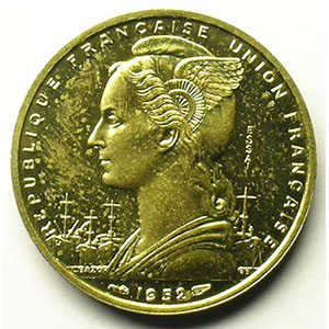 Lec.46   20 Francs 1952 Essai    SUP/FDC