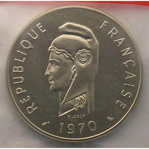 Lec.70   100 Francs   1970 Essai    FDC