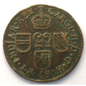 Liard   Charles II  (1665-1700)   1691    TTB
