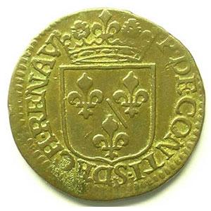 Liard   (François de Bourbon-Conti 1605-1614)   1614    TTB