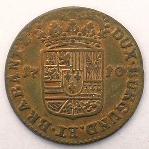 Liard   Philippe V (1700-1711)   1710    TTB+