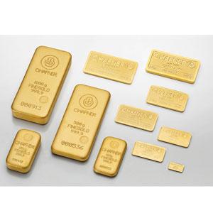 Lingotin d'or fin 999,9 mill.   C-HAFNER seit 1850  Germany    NEUF sous blister numéroté
