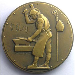 Marcel Renard   Médaille en bronze   59mm   Usine de Moulinelle à Jarny    SUP/FDC
