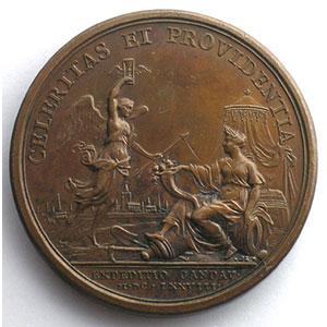 MAUGER   Expédition de Gand   bronze   41mm    SUP