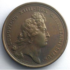 MAUGER/J. Roettiers   Les grands jours   1665-1666   bronze   41mm    TTB+