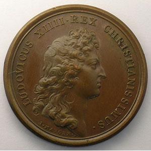 MAUGER   Le Roi accessible à tous ses sujets   bronze   41mm    SUP