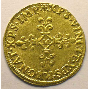 MDLXXIII (1573) M  (Toulouse)    TTB+