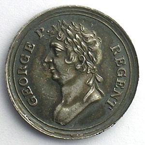 Médaille mignature en argent  19,5mm    SUP